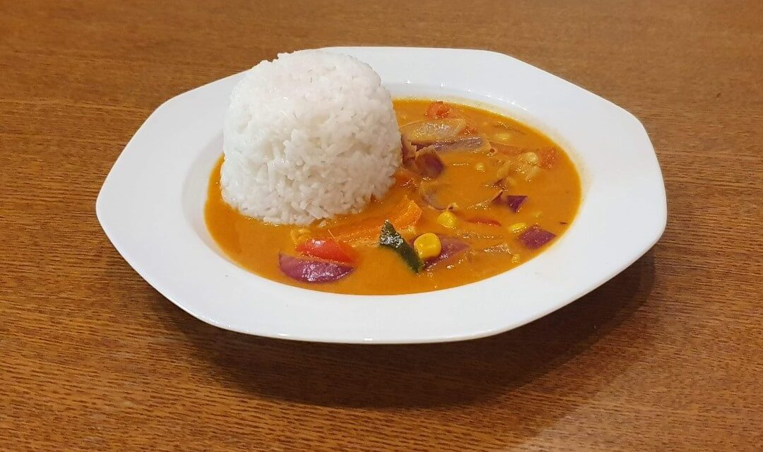 Martins rotes Thai Curry Rezept vegetarisch