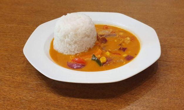 Martins rotes Thai Curry Rezept vegetarisch